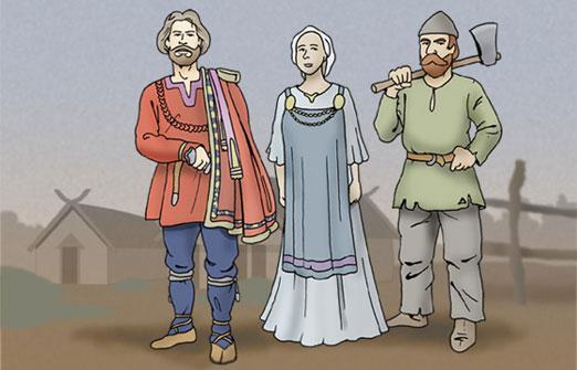 vikingernes tøj